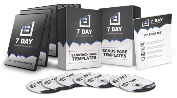 7 Day FB Commission Formula By Mario Brown