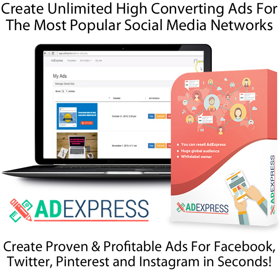 AdExpress Software Pro License LIFETIME ACCESS 100% Working