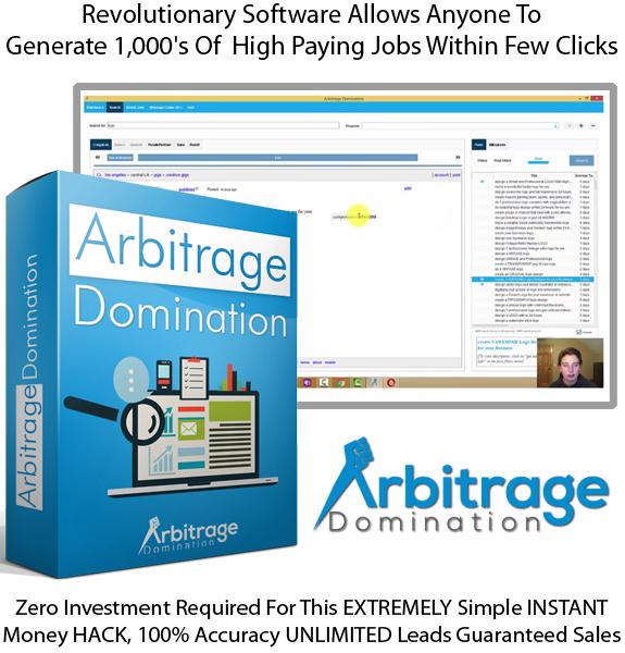 Arbitrage Domination Software Instant Download!! By Kyle Custis