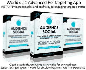 Audience Social Software DIRECT Download! Unlimited License