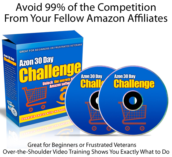Azon 30 Day Challenge DIRECT Download Complete FULL Training