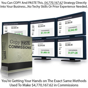 Copy Paste Commissions INSTANT DOWNLOAD FULL Video & PDF