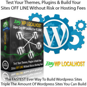 Easy WP Localhost PC Software Unlimited INSTANT DOWNLOAD