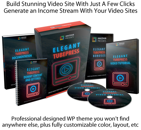 Elegant TubePress Theme NULLED 100% Working!! Instant Download