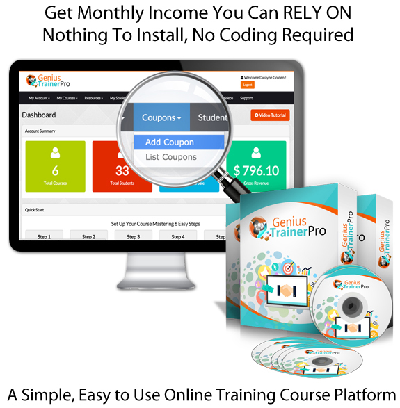 Genius Trainer Pro INSTANT ACCESS 100% Working Training System