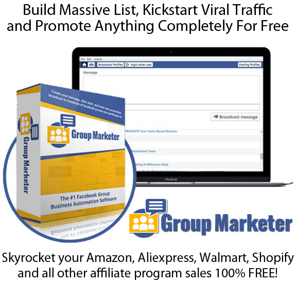 Group Marketer Software FULL CRACKED Lifetime Access