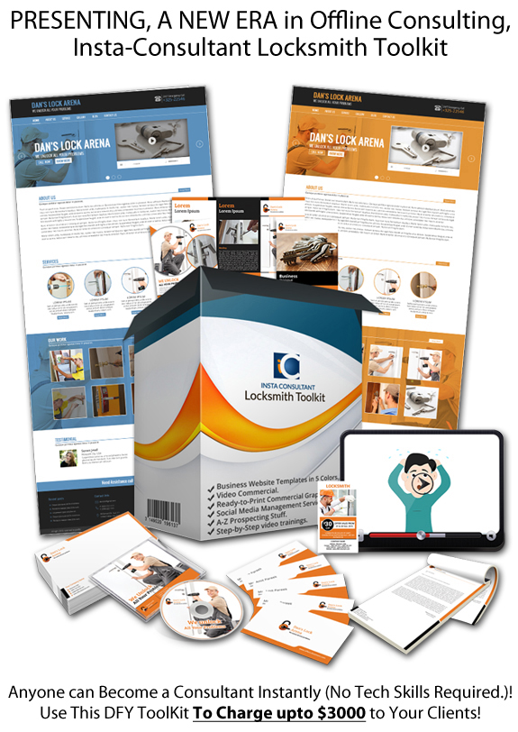 Insta Consultant Locksmith Toolkit Instant Download
