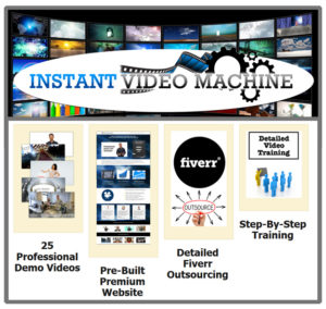 Instant Video Machine Instant Download Full Access!