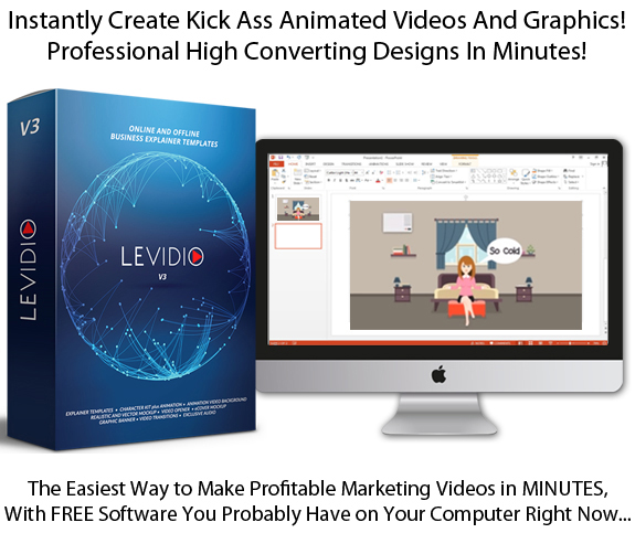 Levidio Vol 3 DIRECT Download COMPLETE Explainer Video Templates