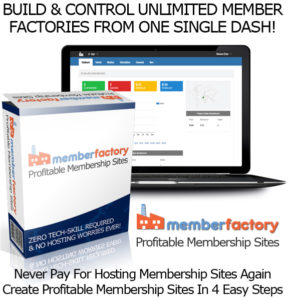 Member Factory Software Lifetime Access By Sam Bakker