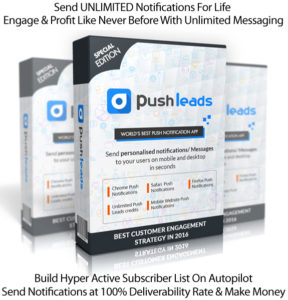Push Leads Software Lifetime Access Monetize YOUR Social Network