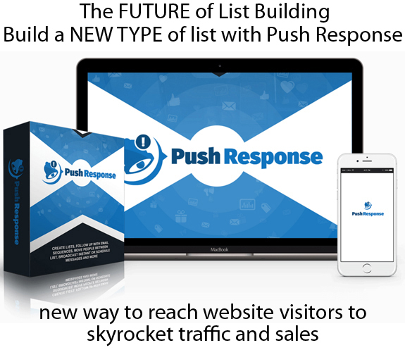 Push Response Software UNLIMITED Access LIFETIME ACCOUNT