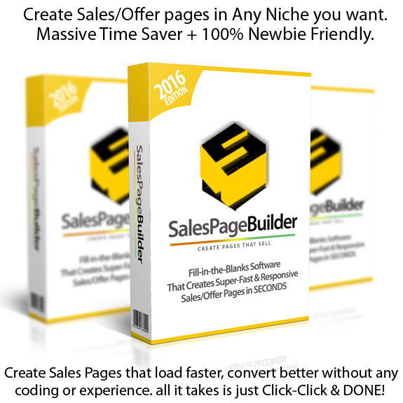 Sales Page Builder DIRECT DOWNLOAD Unlimited License