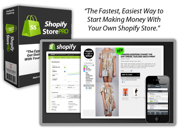 Shopify Store Pro FULL Member Area Instant Download