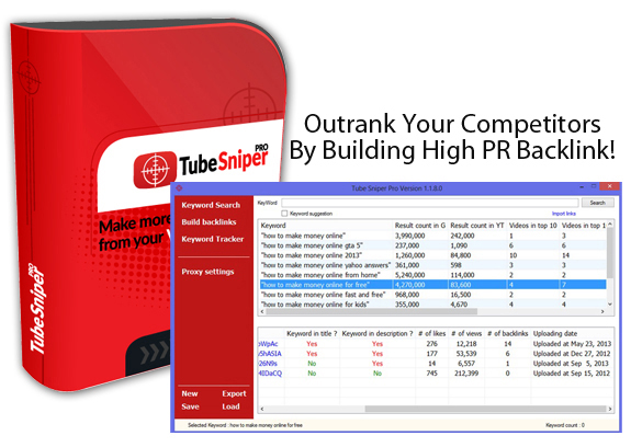 Tube Sniper Pro 3.0 Software CRACKED!! To Rank Your Videos