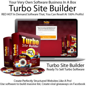 Turbo Site Builder Sell 100% Profits DIRECT DOWNLOAD