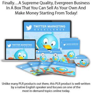 Twitter Marketing Excellence PLR Full Access Full Download