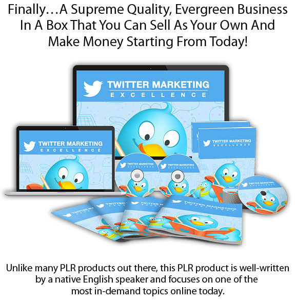 Twitter Marketing Excellence PLR Full Access Full Download