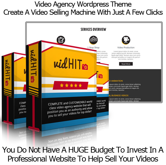 VidHit WP Theme NULLED 100% Working!! By Todd Gross