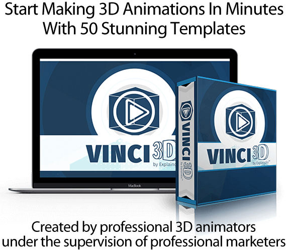 Vinci3D Software APP Unlimited Access By Andrew Darius