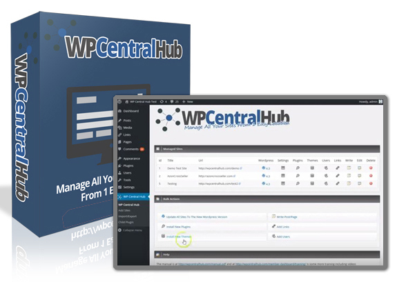 WP Central Hub 2.0 Plugin NULLED Instant Download