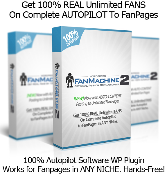 WP Fan Machine 2.0 Free Facebook Fans Everyday