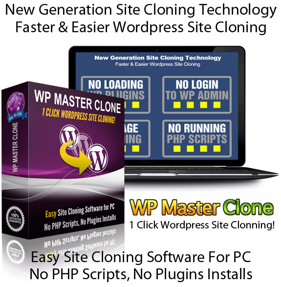 WP Master Clone Software CRACKED 100% Working DIRECT DOWNLOAD