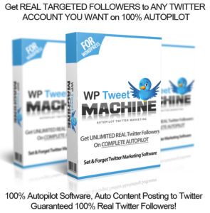 WP Tweet Machine NULLED 100% Working!! INSTANT DOWNLOAD