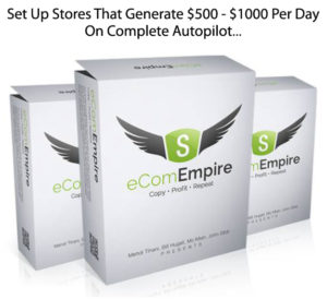 eCom Empire Complete Shopify Training Course INSTANT Download