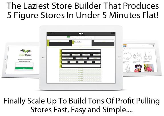 eCom Pages Pro Lifetime ACCESS! Best Online Store Builders