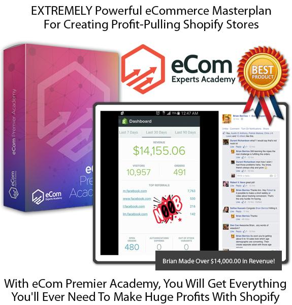 eCom Premier Academy LIFETIME ACCESS Forever!!