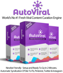AutoViral RankCipher Viral Content Curation Instant Download