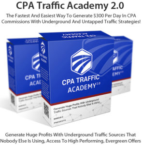 CPA Traffic Academy V2.0 PRO Free Download By Marcus. C