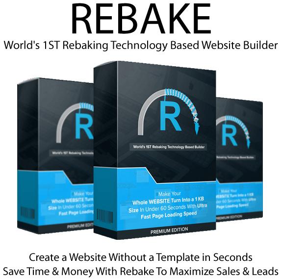 Full Access Rebake App PREMIUM Lifetime By Jai Sharma