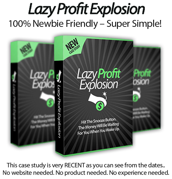 Lazy Profit Explosion Basic Edition Instant Download By Declan & Spencer