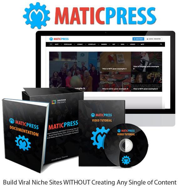 MaticPress Premium Theme Unlimited License Direct Download