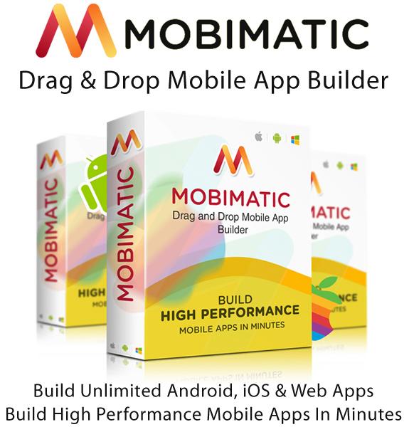 Mobimatic App Builder Annual License Full Access