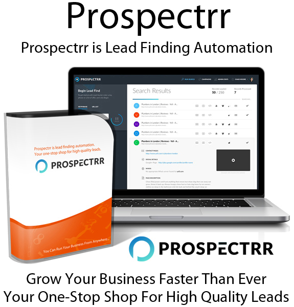 Prospectrr App Advance License Free Download By Joey Xoto