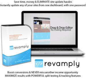 Revamply Website Editing Software By Sam Bakker Lifetime Access