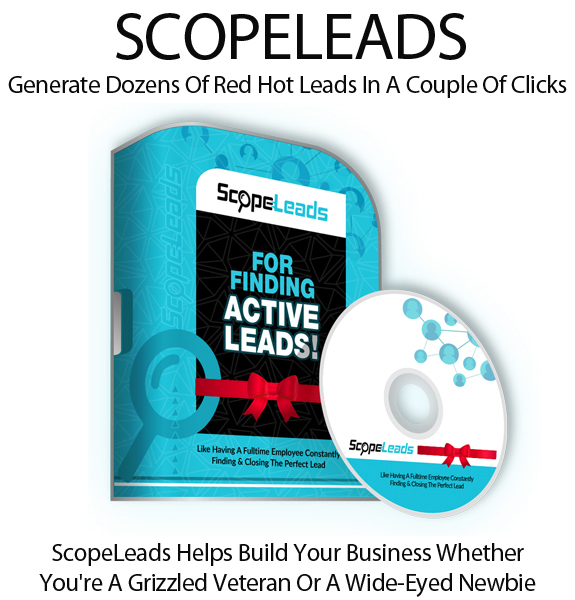 ScopeLeads Software Pro Community Instant Download By Todd Spears