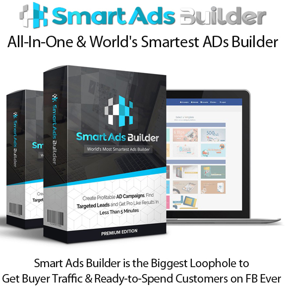 Smart Ads Builder Spy Tool Lifetime Access By Jai Sharma