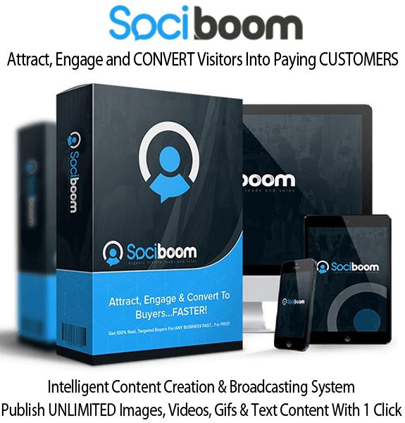 SociBoom Unlimited Pro License Instant Access By Brett Ingram