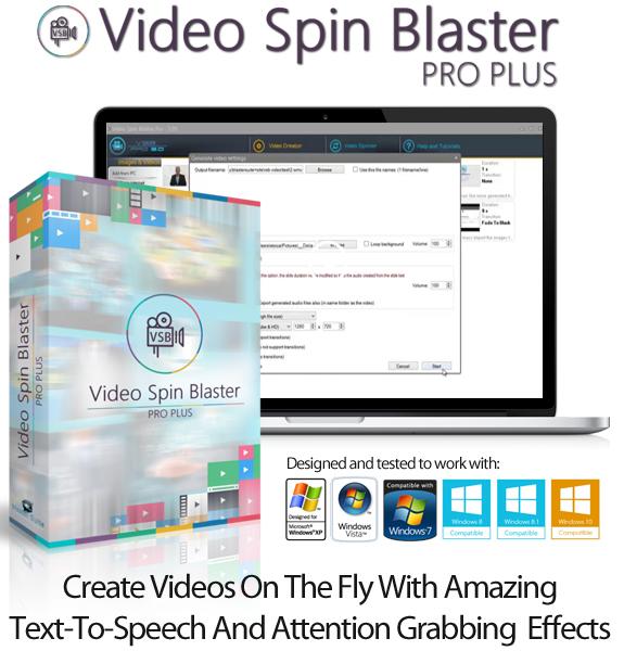 Video Spin Blaster Pro V2 Unlimited License Direct Download