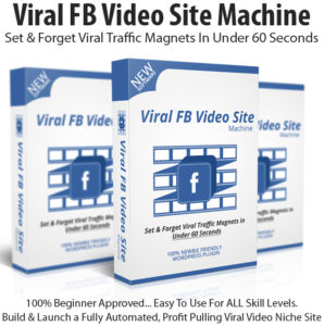 Viral FB Video Site Machine Basic License Instant Download
