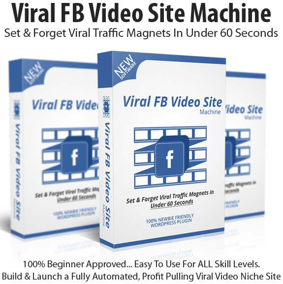 Viral FB Video Site Machine Basic License Instant Download