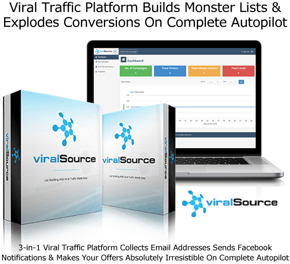Viral Source Software Generate Traffic For Free Download Now