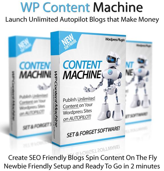 WP Content Machine Unlimited License Lifetime Access Newbie-Friendly