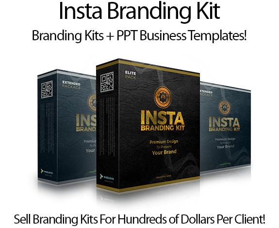 InstaBranding Kit Pro Pack Instant Download By PIXELOVA Creative
