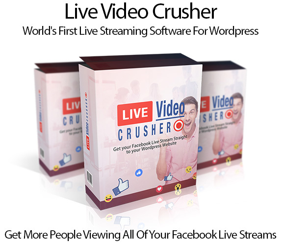Live Video Crusher Plugin Pro 100% Instant Download By Ray Lane