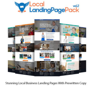 Local Landing Page Pack Vol.2 Extended Instant Download By Dawn Vu